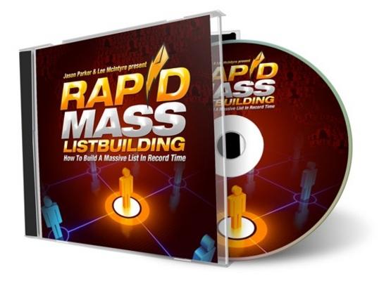 Product picture Rapid Mass Listbuilding