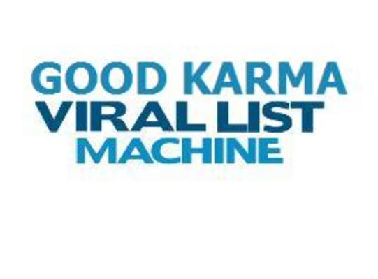 Product picture Good Karma Viral List Machine